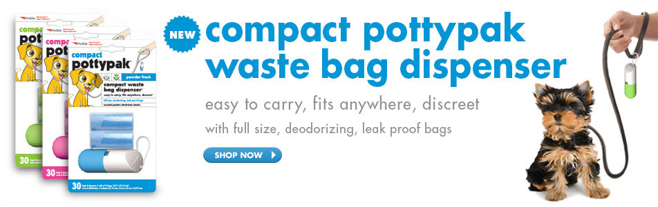 compact pottypak waste bag dispenser