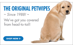 The Original Petwipes Since 1988!