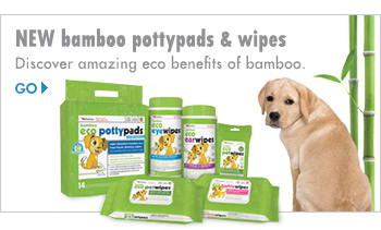 NEW bamboo pottypads & wipes - Discover the amazing eco benefits of bamboo.
