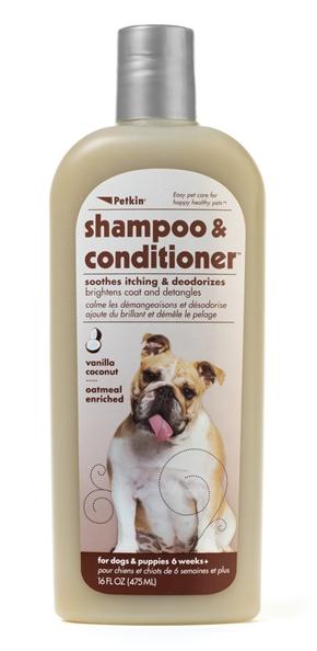 2-in-1 Shampoo & Conditioner - Vanilla Coconut 16oz
