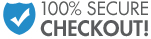 100% Secure Checkout!